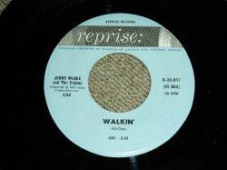 """画像1: JERRY McGEE ( Of THE VENTURES' LEAD GUITARIST ) - WALKIN'  ( Ex++/Ex++  ) / 1962 US ORIGINAL ULTRA RARE!! """"BLUE Label"""" Used 7""""45's Single"""