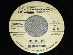 """画像1: THE MOON STONES ( BOB BOGGLE & DON WILSON WORKS of THE VENTURES ) - MY TRUE LOVE ( Ex-/VG++ ) / 1963 US ORIGINAL Audition Label With BLACK Print PROMO 7""""45's Single"""