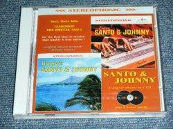 画像1: SANTO & JOHNNY - ENCORE + HAWAII  ( 2 in 1 + Bonus )  / INDIA  ORIGINAL  Brand New SEALED CD