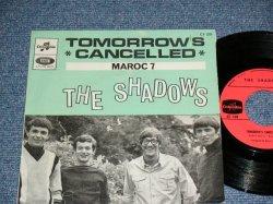 """画像1: The SHADOWS - TOMORROW'S CANCELLED ( Ex+++/Ex+++  ) / 1967 FRANCE FRENCH ORIGINAL Used 7"""" Single With PICTURE SLEEVE"""