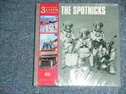 画像1: THE SPOTNICKS -  3 ORIGINAL ALBUM CLASSICS  / 2009 EU EUROPE Brand New SEALED Mini-LP Paper Sleeve 3 CD's SET