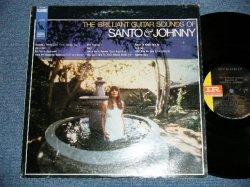 画像1: SANTO & JOHNNY -  THE BRILLIANT GUITAR SOUNDS OF  (VG+++/Ex++ )  / 1967 US AMERICA  ORIGINAL STEREO Used LP
