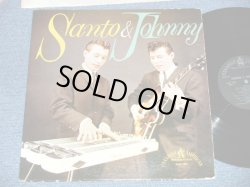 画像1: SANTO & JOHNNY - SANTO & JOHNNY ( DEBUT ALBUM included SLEEP WALK :Ex-/Ex+  B-6:Poor SCRATCH and JUMP)/ 1959 US AMERICA ORIGINAL 'BLACK Label' MONO Used LP
