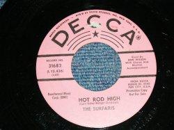 """画像1: The SURFARIS - HOT ROD HIGH / KAREN  ( Ex++/Ex+  ) / 1964 US AMERICA ORIGINAL """"PINK LABEL PROMO"""" Used 7"""" Single"""