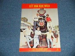 画像1: The BEACH BOYS - LET HIM RUN WILD / 1965 US AMERICA ORIGINAL Used SHEET MUSIC
