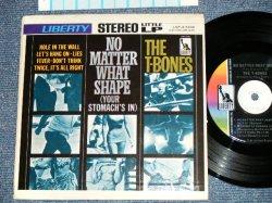 """画像1: The T-BONES - NO MATTER WHAT SHAPE (Eith Juke Box STRIPE ) (Ex+++/Ex+++) (MINT-/MINT BB )   / 1966 US AMERICA ORIGINAL  Used 7""""EP + PICTURE SLEEVE"""