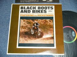 画像1: THE KICKSTANDS  - BLACK BOOTS AND BIKES (MINT-/MINT)  / 1964 US AMERICA ORIGINAL MONO Used LP