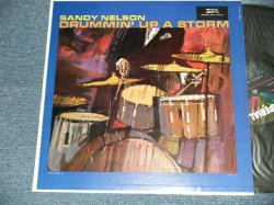"画像1: SANDY NELSON - DRUMMIN' UP A STORM (Ex+++/MINT- Looks:Ex+++) / 1962 US AMERICA ORIGINAL 1st Press ""BLACK with 5 STARS Label"" MONO  Used  LP"