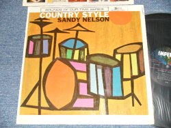 "画像1: SANDY NELSON - COUNTRY STYLE (Ex++/Ex++) / 1962 US AMERICA ORIGINAL 1st Press ""BLACK with 5 STARS Label"" MONO  Used  LP"