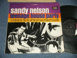 "画像1: SANDY NELSON - TEEN AGE HOUSE PARTY (Ex+/Ex++ Looks:Ex+) / 1964 VersioN US AMERICA ""2nd Press Cover"" 2nd Press ""BLACK with PINK $ WHITE Label"" STEREO  Used  LP"