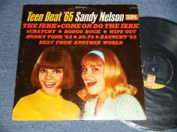 "画像1: SANDY NELSON - BEAT THAT DRUM (Ex/Ex++)  / 1963 Version US AMERICA 2nd Press ""BLACK with PINK & WHITE Label"" MONO  Used  LP"