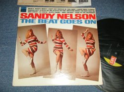 "画像1: SANDY NELSON - THE BEAT GOES ON (Ex++/MINT- Looks:Ex+ Clouded)  / 1967 US AMERICA ORIGINAL  ""PROMO"" 1st Press ""BLACK with GREEN Label"" MONO  Used  LP"
