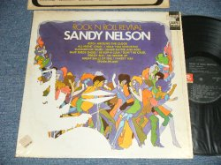 "画像1: SANDY NELSON - ROCK 'N ROLL REVIVAL (MINT-/MINT-)  / 1968 US AMERICA ORIGINAL 1st Press ""BLACK with GREEN Label"" STEREO  Used  LP"