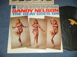 """画像1: SANDY NELSON - THE BEAT GOES ON (Ex++/MINT- )  / 1967 US AMERICA ORIGINAL 1st Press """"BLACK with GREEN Label"""" MONO  Used  LP"""