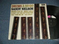 """画像1: SANDY NELSON - DRUMS A GO-GO (MINT-/Ex+++)  / 1965 US AMERICA ORIGINAL 1st Press """"BLACK with PINK and WHITE Label""""  MONO Used  LP"""