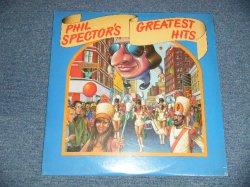 """画像1:  VA ( CRYSTALS+RONETTES+DARLEN LOVE+More ) - PHIL SPECTOR'S GREATEST HITS (SEALED) /1977 US AMERICA ORIGINAL """"BRAND NEW SEALED"""" 2-LP"""