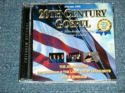 """画像1: NOKIE EDWARDS (of THE VENTURES) +JORDANAIRES+V.A. - 20TH CENTURY GOSPEL (NEW) / 2004 US AMERICA ORIGINAL """"BRAND NEW"""" CD"""