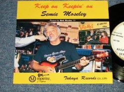 """画像1: SEMI MOSLEY - KEEP ON KEEPIN' ON   (Ex+++/MINT-) / 1990 US AMERICA ORIGINAL """"PROMO ONLY SAME FLIP"""" Used 7"""" SINGLE with PICTURE Cover"""