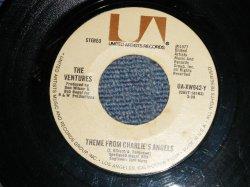 """画像1: THE VENTURES - A) THEME FROM THE CHARLIE'S ANGELS  B) THEME FROM STARSKY & HUTCH (Ex/Ex)/ 1977 US AMERICA ORIGINAL Used 7"""" SINGLE"""