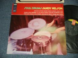 "画像1: SANDY NELSON - SOUL DRUM (Ex+/Ex++ SWOFC, SEAMEDSP) / 1968 US AMERICA ORIGINAL 1st Press ""BLACK with GREEN Label"" STEREO Used LP"