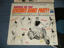 "画像1: THE VENTURES - GOING TO THE VENTURES PARTY (Ex+/Ex+++) / 1962 US AMERICA ORIGINAL 1st Press ""TURQUOISE GREEN Label "" STEREO Used LP"