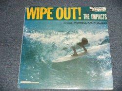 """画像1: The IMPACTS - WIPE OUT! (SEALED) / 1988 US AMERICA REISSUE """"BRAND NEW SEALED"""" LP"""