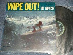 画像1: The IMPACTS - WIPE OUT! (Ex++, Ex-/VG+++ BRK) / 1963 US AMERICA ORIGINAL MONO Used LP