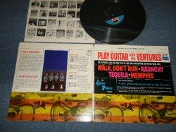"""画像1: THE VENTURES - PLAY GUITAR WITH THE VENTURES (Ex++/MINT- EDSP) / 1965 US AMERICA ORIGINAL """"'D' MARK LABEL"""" STEREO Used LP"""