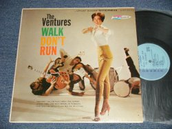 "画像1: THE VENTURES - WALK DON'T RUN (Ex++, Ex+/Ex+++ Looks:Ex++) / 1961? US AMERICA 2nd Press ""LIGHT BLUE Label"" STEREO Used LP"
