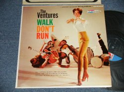 """画像1: THE VENTURES - WALK DON'T RUN (Ex+++/MINT- EDSP) / 1966? Version US AMERICA 5th Press """"'D' MARK Label"""" STEREO Used LP"""