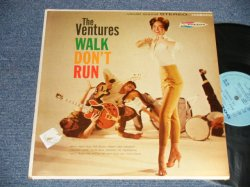 "画像1: THE VENTURES - WALK DON'T RUN (Ex/Ex+++ Looks:Ex++ TEAROFC) / 1961? US AMERICA 2nd Press ""LIGHT BLUE Label"" STEREO Used LP"
