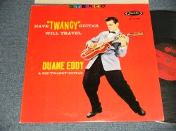 "画像1: DUANE EDDY - HAVE 'TWANGY' GUITAR WILL TRAVEL (Ex+/MINT-) / 196? US AMERICA ""2nd Press ""RED JACKET"" ""RED LABEL"" STEREO Used LP"