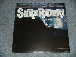 """画像1: THE LIVELY ONES - SURF RIDER! (SEALED) / 1995 US AMERICA REISSUE MONO  """"BRAND NEW SEALED"""" LP"""
