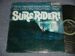 画像1: THE LIVELY ONES - SURF RIDER! (Ex+/Ex  EDSP, WOBC) / 1963 US AMERICA ORIGINAL STEREO Used LP