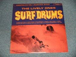 """画像1: THE LIVELY ONES - SURF DRUMS (SEALED) / 1995 US AMERICA REISSUE MONO  """"BRAND NEW SEALED"""" LP"""