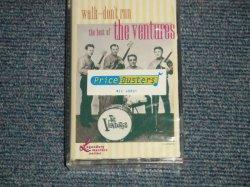 """画像1: The VENTURES - WALK, DON'T RUN /THE BEST OF / LEGENDARY MASTERS SERIES  (SEALED) / 1990 US AMERICA ORIGINAL """"BRAND NEW SEALED"""" CASSETTE Tape"""