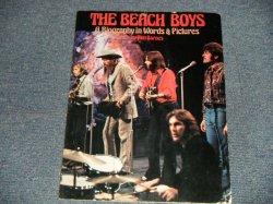 """画像1: The BEACH BOYS  by KEN BARNES - A BIOGRAPHY IN WORDS & PICTURES (Ex++) / 1976 US AMERICA ORIGINAL """"1st PRESS"""" Used BOOK"""