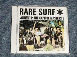 """画像1: V.A. Various Omnibus - RARE SURF VOL.5 (NE) / 2000 GERMAN GERMANY ORIGINAL """"BRAND NEW"""" CD"""