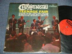画像1: THE CHALLENGERS - AT THE TEENAGE FAIR (Ex+/Ex  BB STPOBC)) / 1964 US AMERICA ORIGINAL MONO Used LP