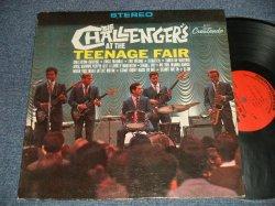 画像1: THE CHALLENGERS - AT THE TEENAGE FAIR (Ex++/Ex+++ B-4:Ex+) / 1964 US AMERICA ORIGINAL STEREO Used LP