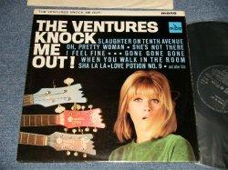 """画像1: THE VENTURES - KNOCK ME OUT (NONE """"TOMORROW'S LOVE"""" Version) (Ex+++. Ex++/Ex+++) / 1965 UK ENGLAND ORIGINAL """"Large MONO credit"""" Used LP"""