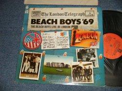 画像1: The BEACH BOYS - '69 LIVE IN LONDON (Ex+++/MINT- BB) / 1976 US AMERICA ORIGINAL Used LP