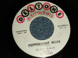 "画像1: DICK DALE and THE DEL-TONES - A)  PEPPERMINT MAN  B) SURF BEAT (Ex+++/Ex+++ WOL) / 1963 US AMERICA ORIGINAL Used 7"" Single"