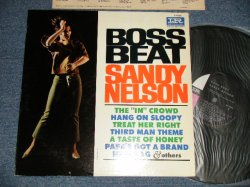 "画像1: SANDY NELSON - BOSS BEAT (Ex++/Ex++ Looks:Ex+) / 1965 US AMERICA ORIGINAL ""BLACK With PINK & WHIET Label""  MONO Used LP"