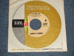 """画像1: SANTO & JOHNNY - A) LIVE FOR LIFE   B) SEE YOU IN SEPTEMBER (Ex+++ Looks:MINT-/Ex+++ Looks:MINT-) / 1968 US AMERICA ORIGINAL """"PROMO""""  Used 7"""" Single"""