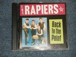 画像1: THE RAPIERS - BACK TO THE POINT (MINT-/MINT) / 1994 UK ENGLAND ORIGINAL Used CD