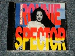 """画像1: RONNIE SPECTOR (The RONETTESS) - DANGEROUS  (NEW) / 1995 AUSTRALIA ORIGINAL """" 1st Press JACKET Design""""  """"BRAND NEW"""" CD"""