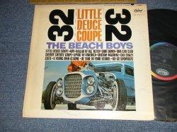 """画像1: The BEACH BOYS - LITTLE DEUCE COUPE (Matrix #A) T-1-1998-T6#2 IAM in TRIANGLE B) T-2-1998-T4 IAM in TRIANGLE) """"SCRANTON PA in PENNSYLVANIA Press""""(Ex++/Ex+  B-5:VG) / 1963 US AMERICA ORIGINAL """"BLACK with RAINBOW Label"""" MONO Used LP"""