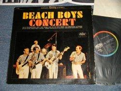 """画像1: The BEACH BOYS - CONCERT(Ex/Ex+++ Looks:Ex+ EDSP, SPLIT) / 1964 WEST-GERMANY ORIGINAL 1st Press """"BLACK with RAINBOW Label"""" """"With INSERTS""""  STEREO Used LP"""