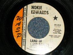 """画像1: NOKIE EDWARDS of THE VENTURES - A)LAND OF 1,000 DANCES  B) MUDDY MISSISSIPPI LINE  (Ex/Ex WOL) / 1969 US AMERICA ORIGINAL Used 7""""Single"""